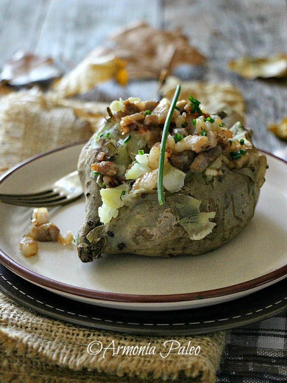 Sweet Jacket Potatoes - Patate Americane al Cartoccio