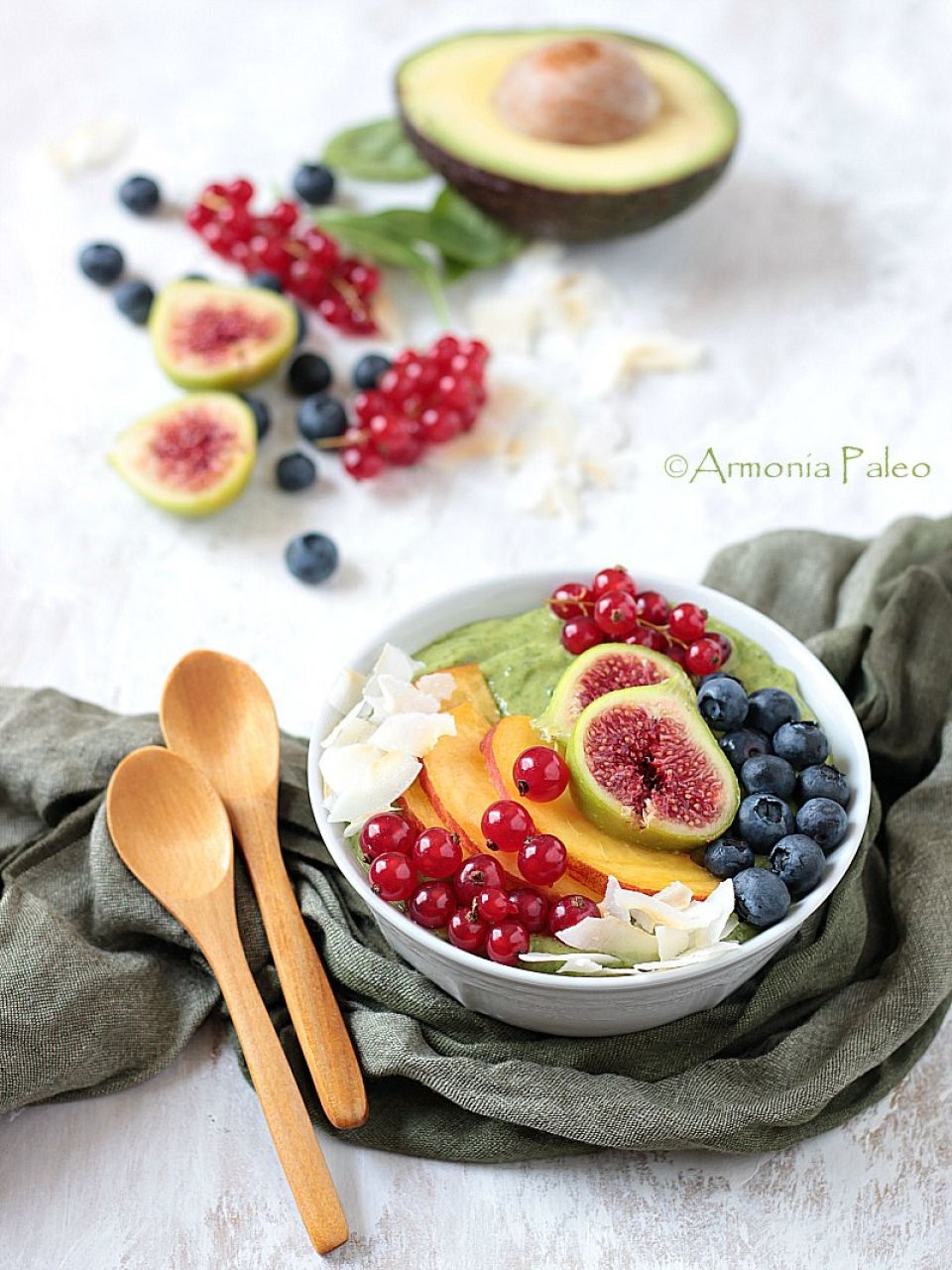 Smoothie Bowl con Avocado